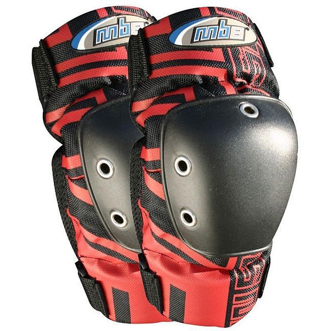 Mbs Pro Elbow Pads Size L Red Skateboard Gear Elbow Pads Pairs