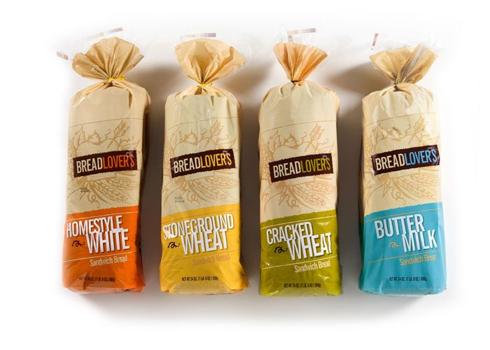 Cool Bread Packaging Done By Claudia Button Breads Ideas