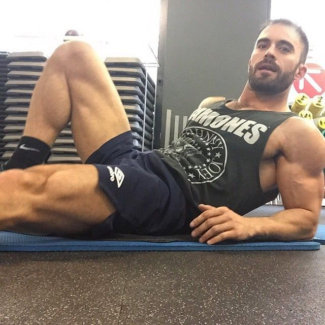 This is what I want! Sexy guy who I can workout with and