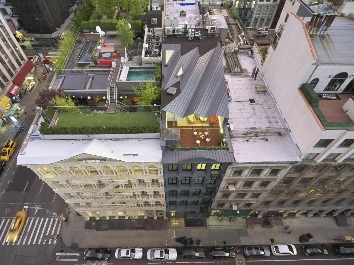 Modern Addition 2 Jpg 1200 899 Manhattan Buildings Architecture Building