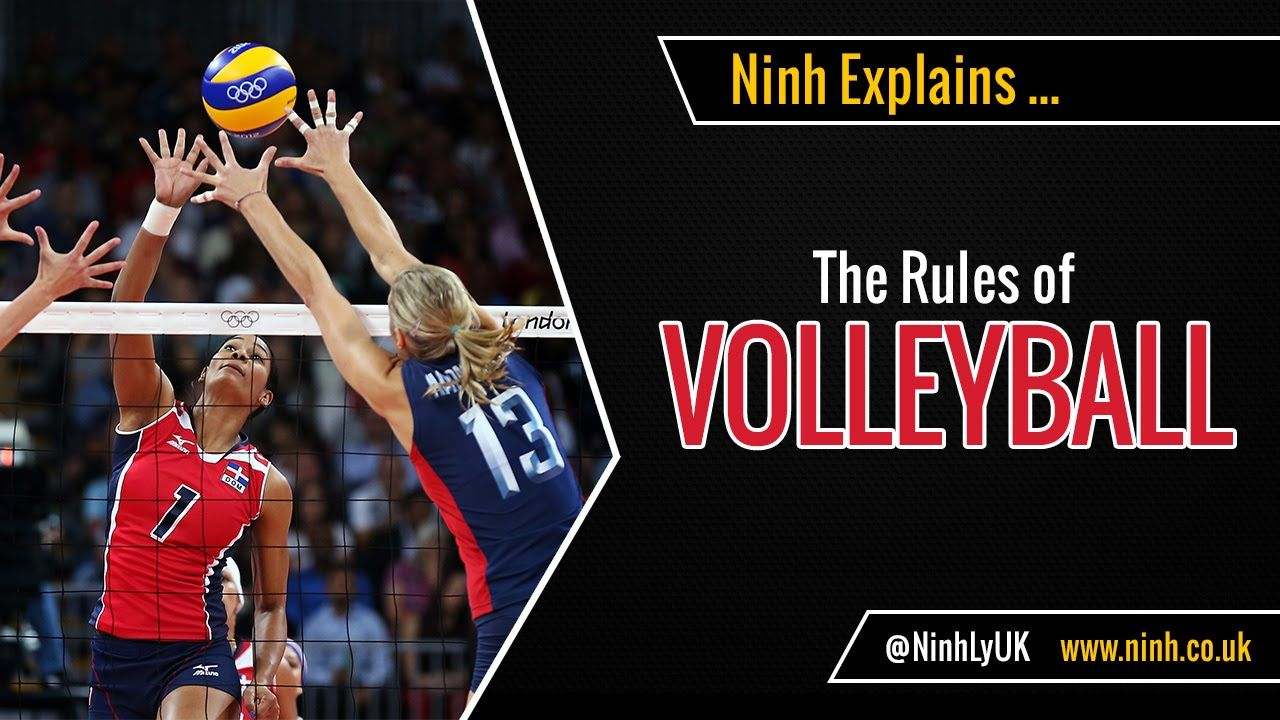 The Rules Of Volleyball Explained Volleyball Rules Volleyball Volleyball Workouts