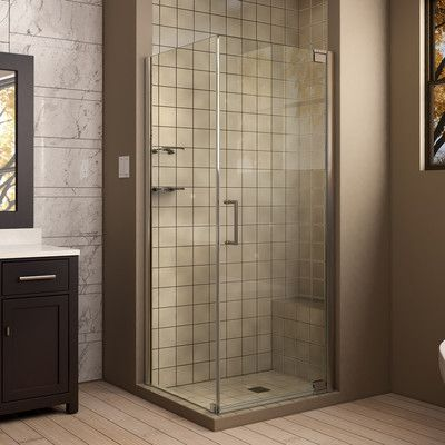 DreamLine Elegance 34\ - Bathroom Glass