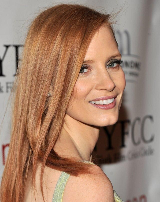 Lovely Jessica Chastain Blonde Hair Color Jessica Chastain Actress Jessica