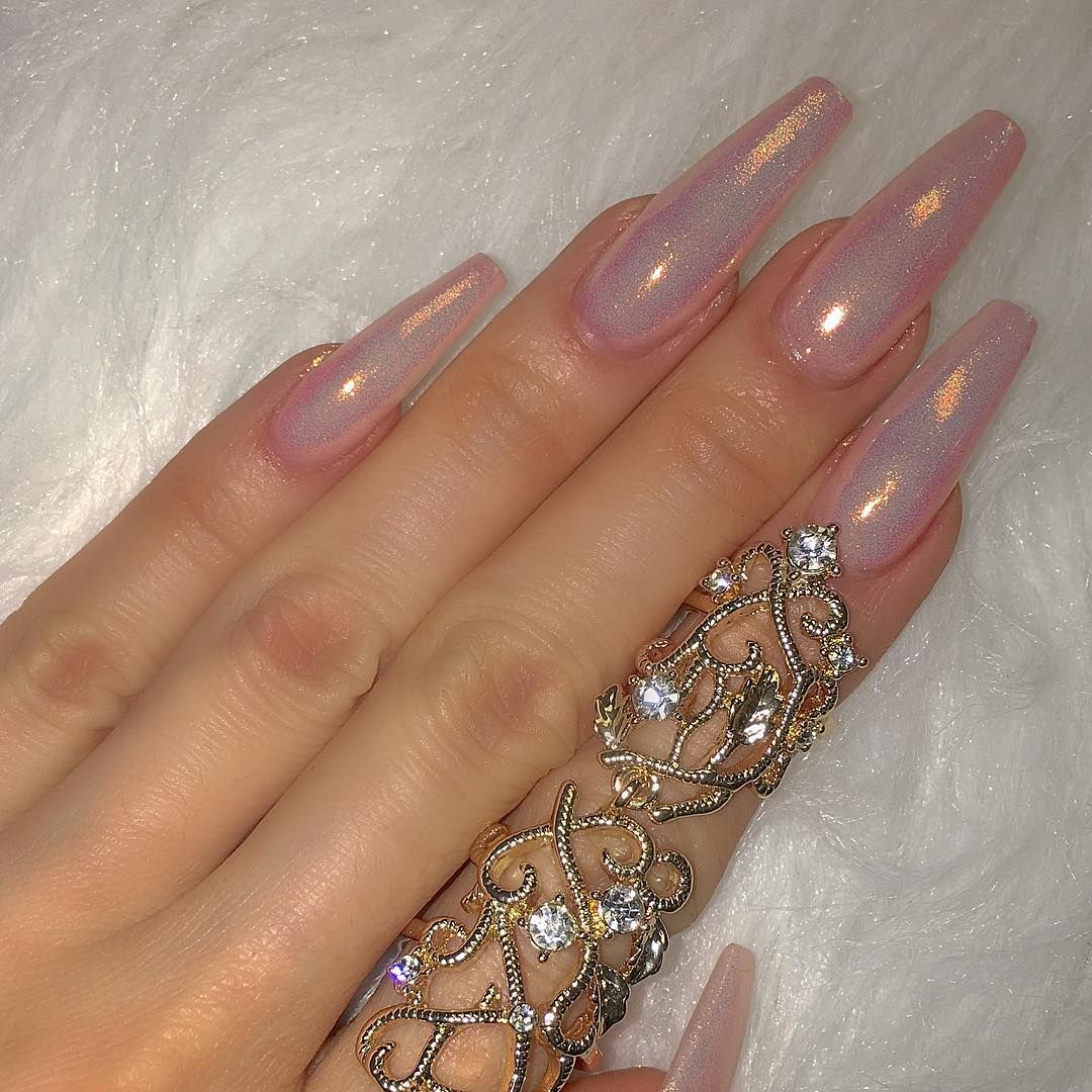 60 Simple Acrylic Coffin Nails Colors Designs | Pinterest | Coffin ...