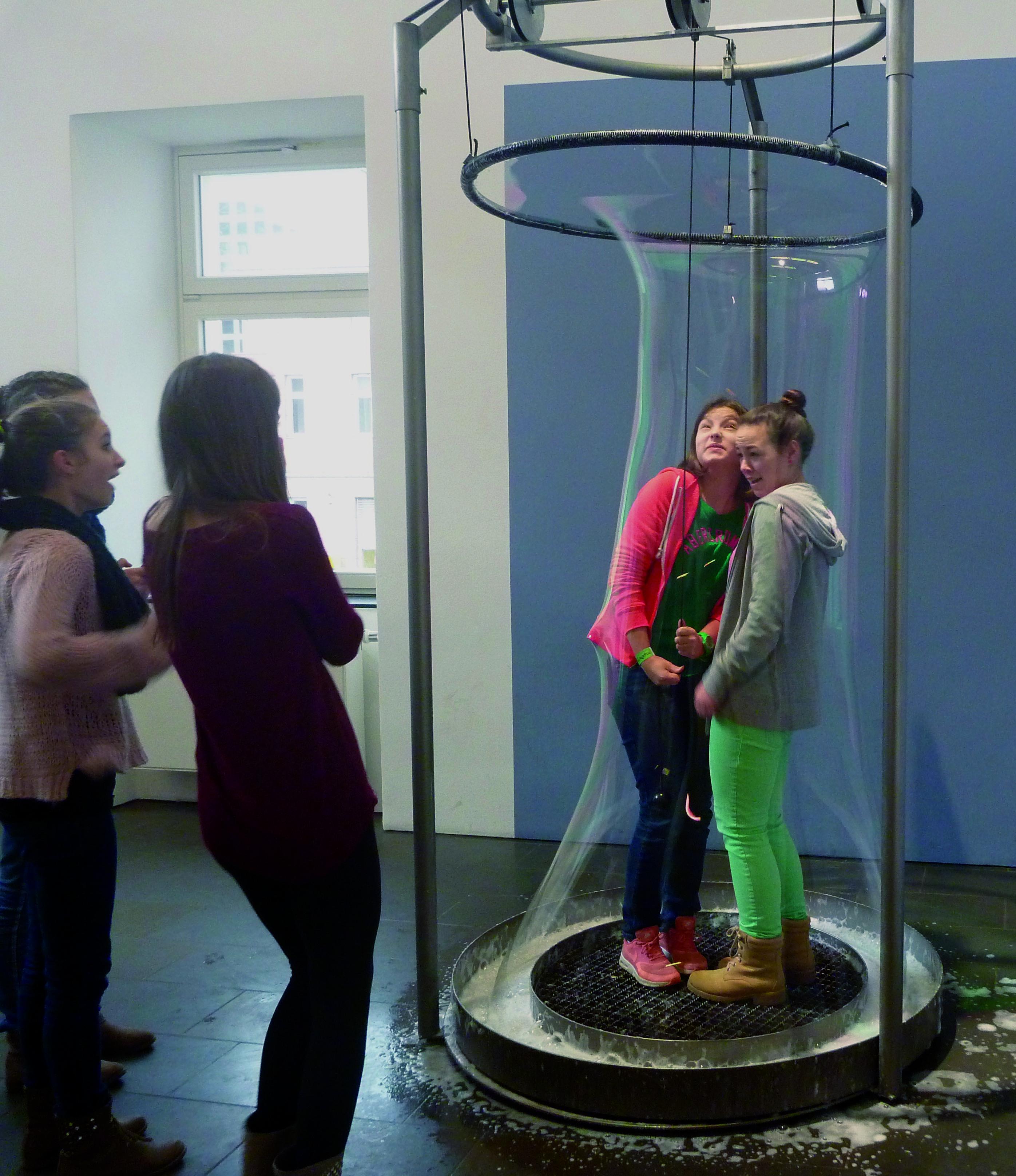 Seifenblasen Museum