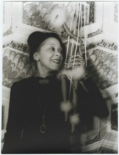 Nora Holt, photographed with a marionette by Carl Van Vechten on August 29, 1937, was the first African American to earn a master's degree in music (Chicago Musical College, 1918). She was a music critic for two preeminent black newspapers, the Chicago Defender and the New York Amsterdam News. Married five (or more) times, she was also a regular in the gossip columns thanks to her scandalous love life.