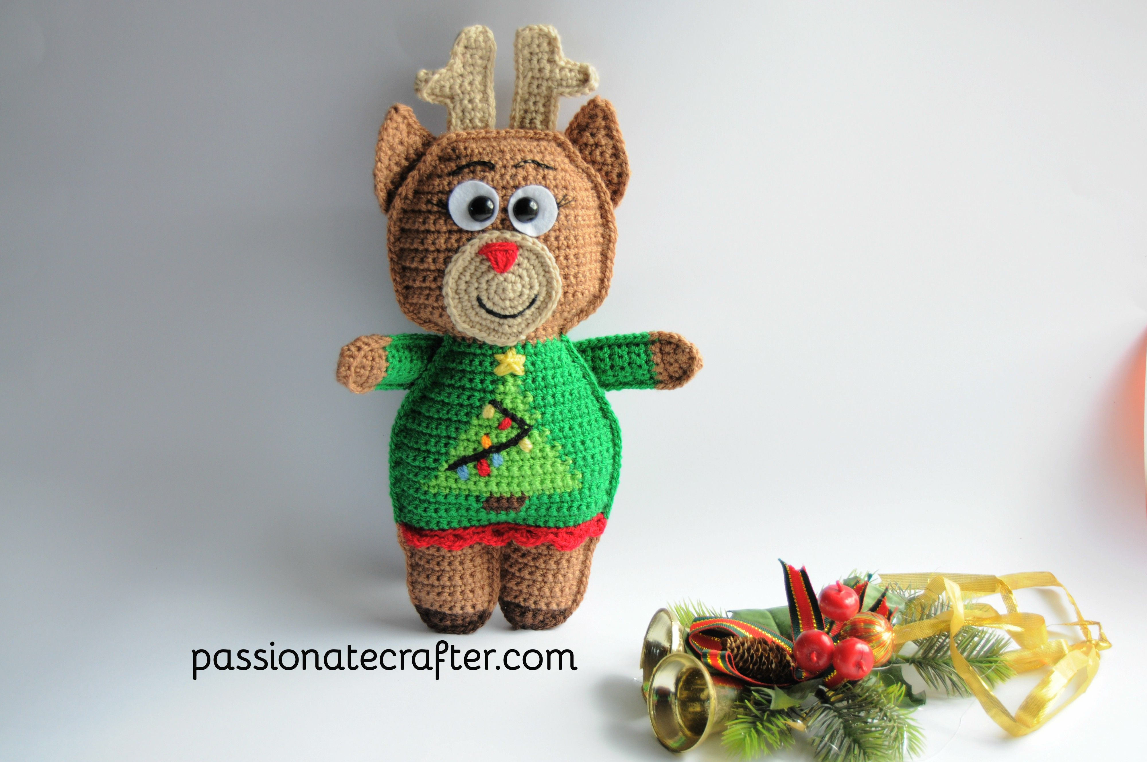 Ruby the reindeer crochet ragdoll free patternristmas ruby the reindeer crochet ragdoll free patternristmas collection with ruby rudolph mr bankloansurffo Choice Image