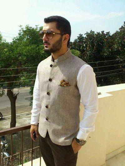 Kurta Pajama For Men Designs With Nehru Jacket Punjabi Style Simple