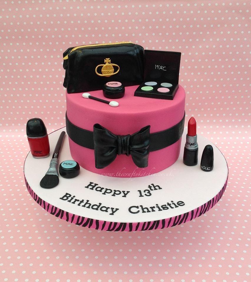Make Up Cake, 18th Birthday Cake