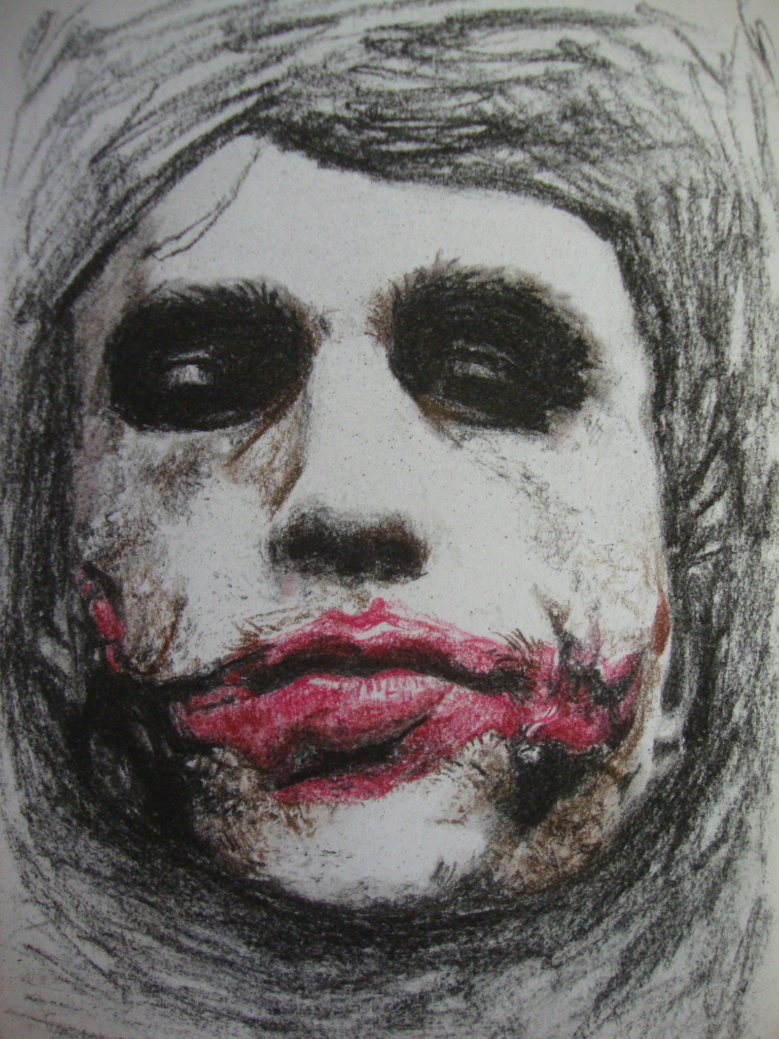 A Draw I made in tribute to Heath Ledger