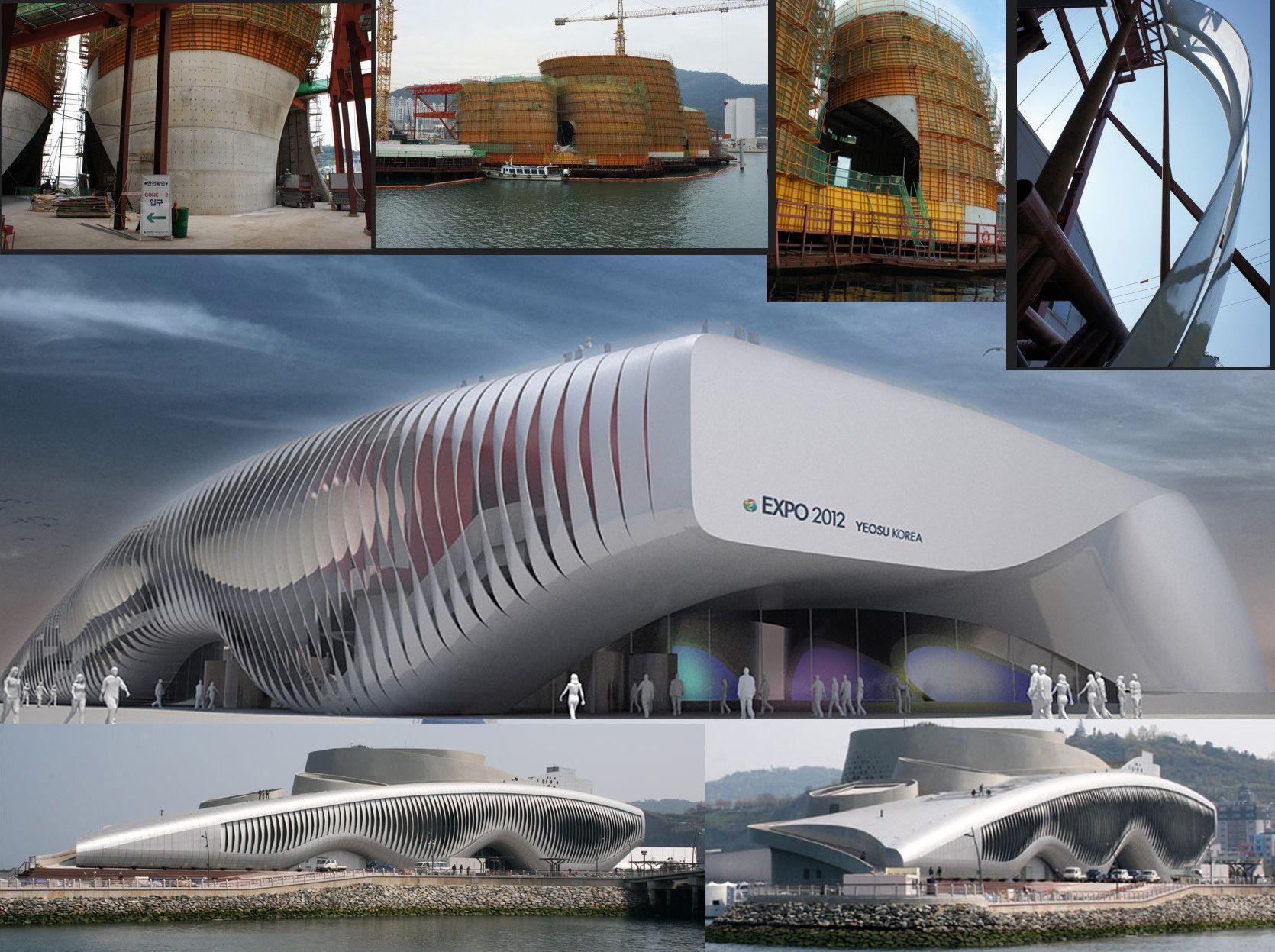 """One Ocean"" Pavilion EXPO 2012: Korea (cgi video inside)"
