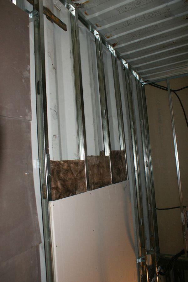 Nstalaci n del sistema de aislamiento de las paredes en el interor contiene una casa 2011 - Aislamiento paredes interiores ...