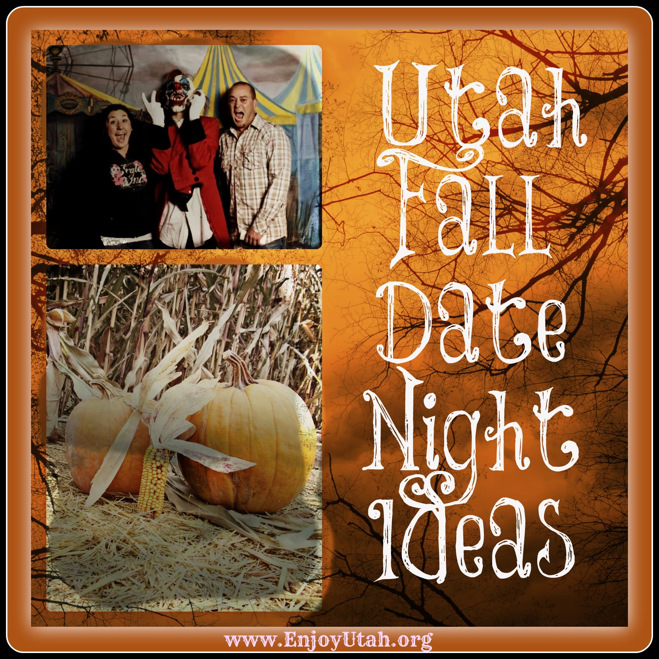 14 ideas for fun date nights in utah during the fall. | fall and