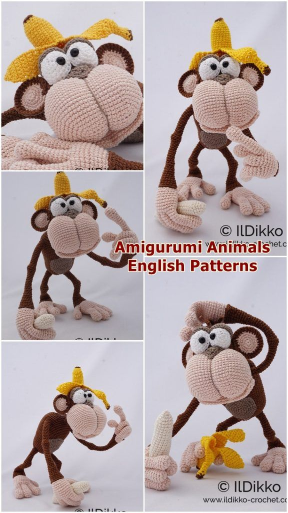 6 Super Cute Crocheted Amigurumi Cow Free Patterns | Wzory ... | 1024x576