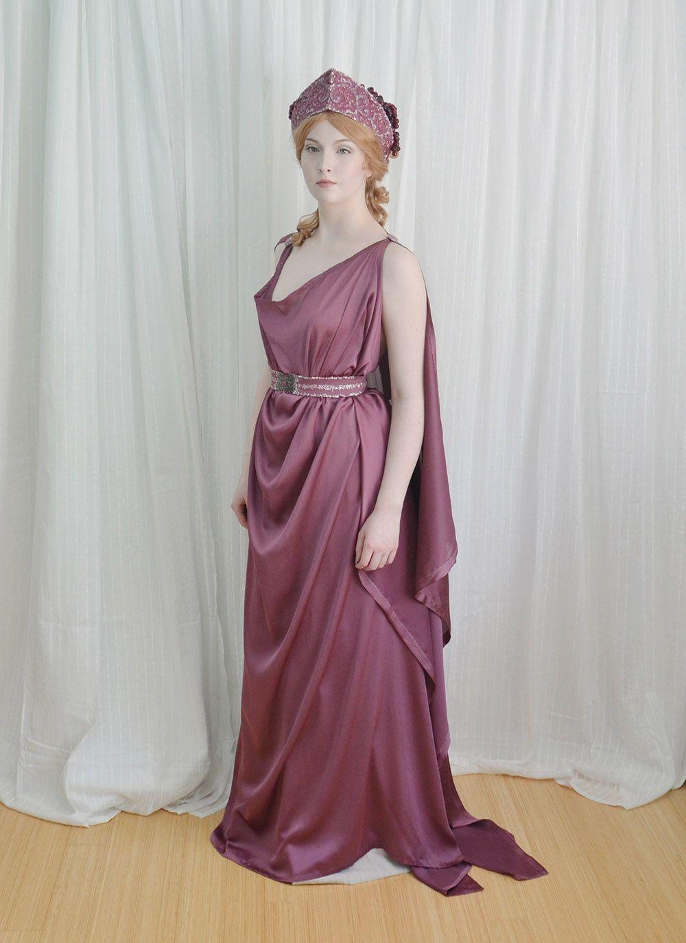 Angela Clayton Grecian 13  Griechisches kleid, Griechische outfits