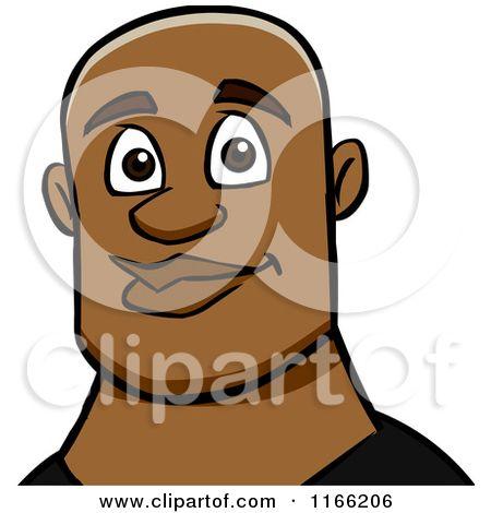 19+ Black man face clipart info