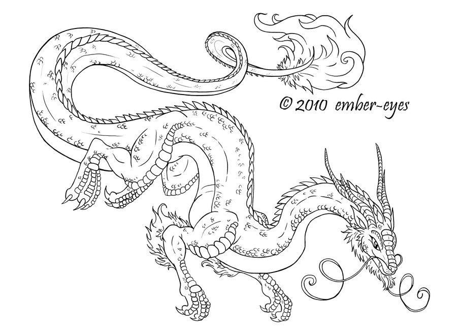 Coloring Book Dragon by Ember-Eyes.deviantart.com on @deviantART ...