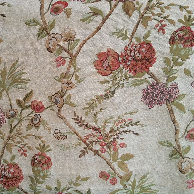 Find More Fabric Information About 2016 American Countryside Style Flowers Jacquard Chenille Curtain Sofa Fabri Chenille Curtains Fabric Sofa Countryside Style