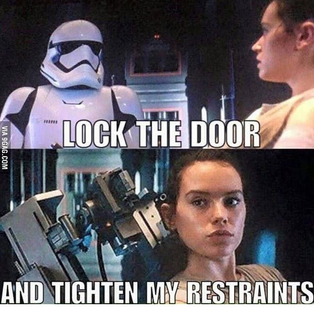 50 Shades Of Rey Fan Fiction Inappropriate Memes Star Wars Jokes Funny Star Wars Memes