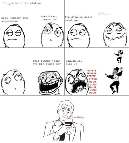 MEME COMIC TRUE STORY INDONESIA image memes at relatably