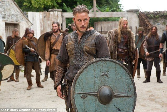 Australian Travis confesses that before filming Vikings he knew little about the true history, but thanks to the 'informative' and detailed scripts written by Michael Hirst, he has learned a lot more about European history