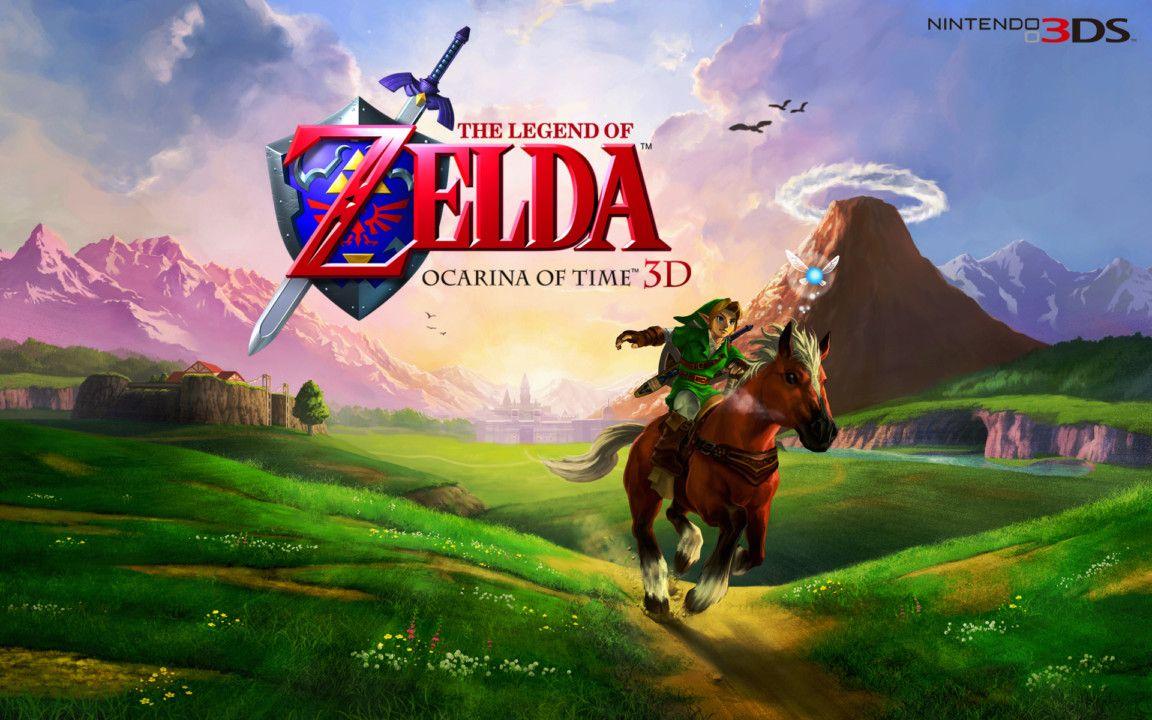 Zelda Ocarina Of Time 3ds Wallpaper 2 Legend Ocarina Of Time Legend Images Legend Of Zelda
