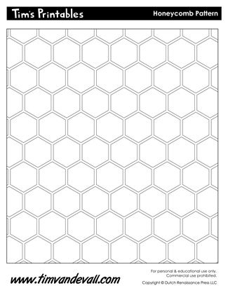 picture relating to Printable Photo Mat Templates named honeycomb template Templates Honeycomb behavior