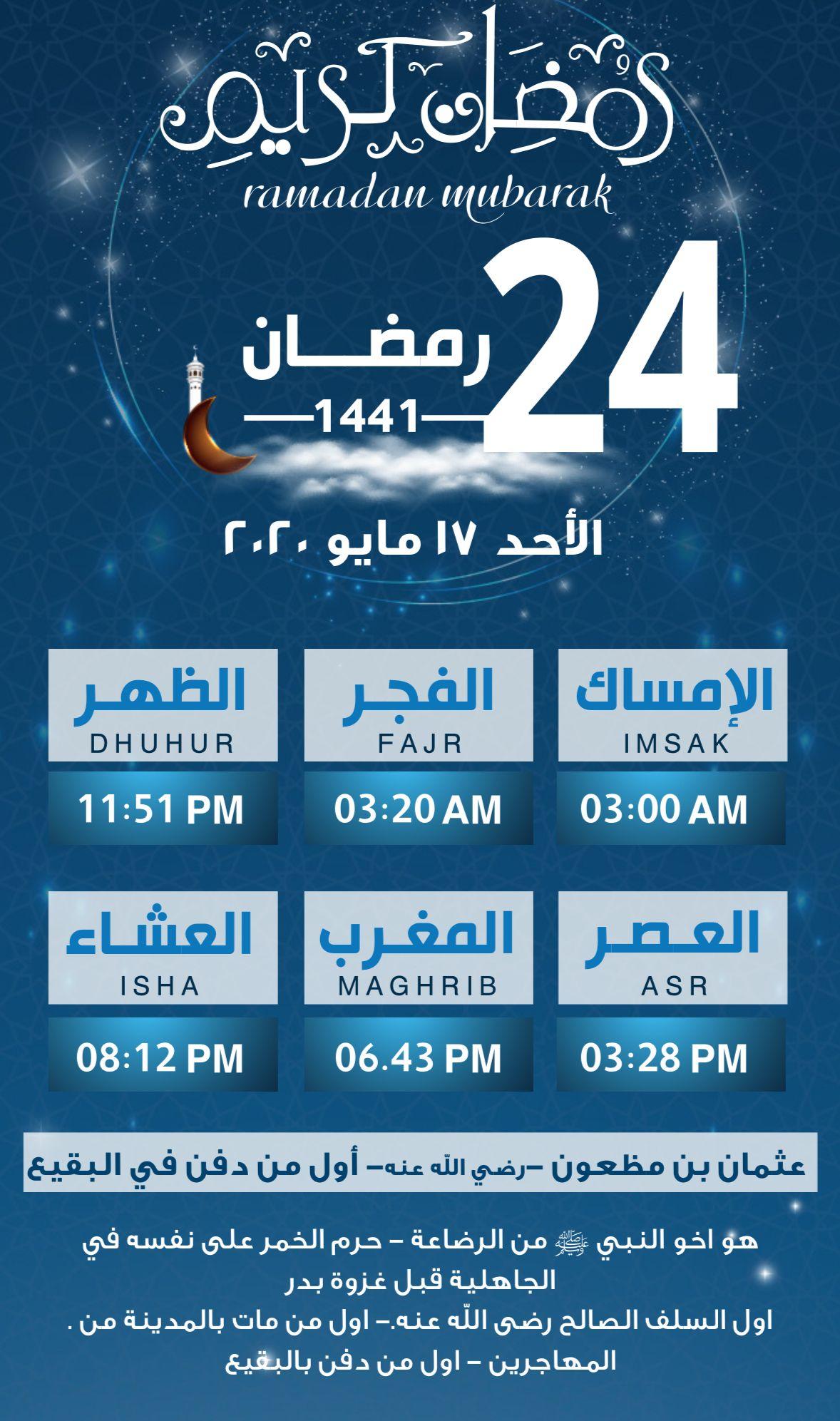 الاحد ٢٤رمضان ١٤٤١هے ١٧ مايو ٢٠٢٠ Ramadan Ramadan Mubarak Weather