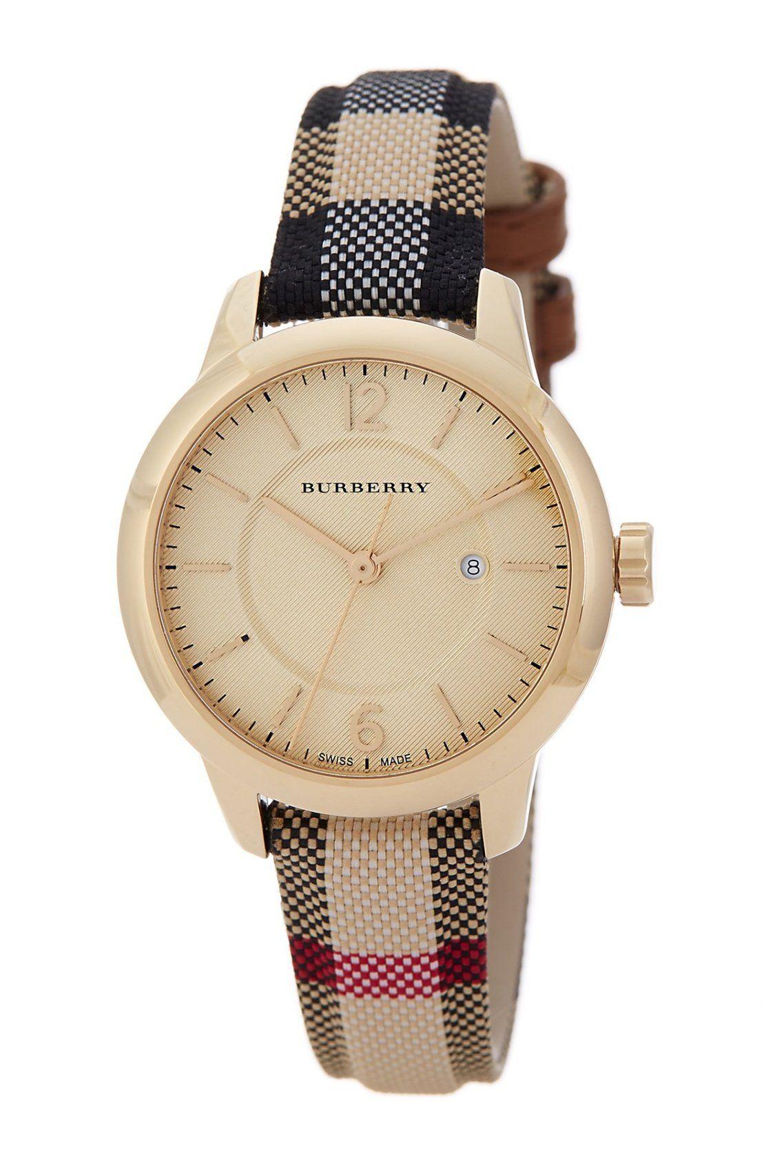 a37a58e8a727 Burberry Women s The Classic Swiss Quartz Watch. Relojes De ...
