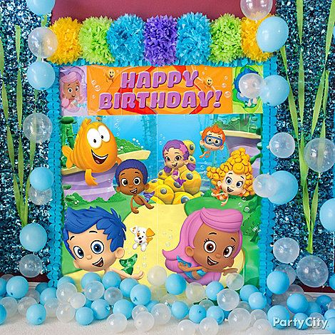 Best 10 Bubble Guppies Party Supplies Ideas On Pinterest