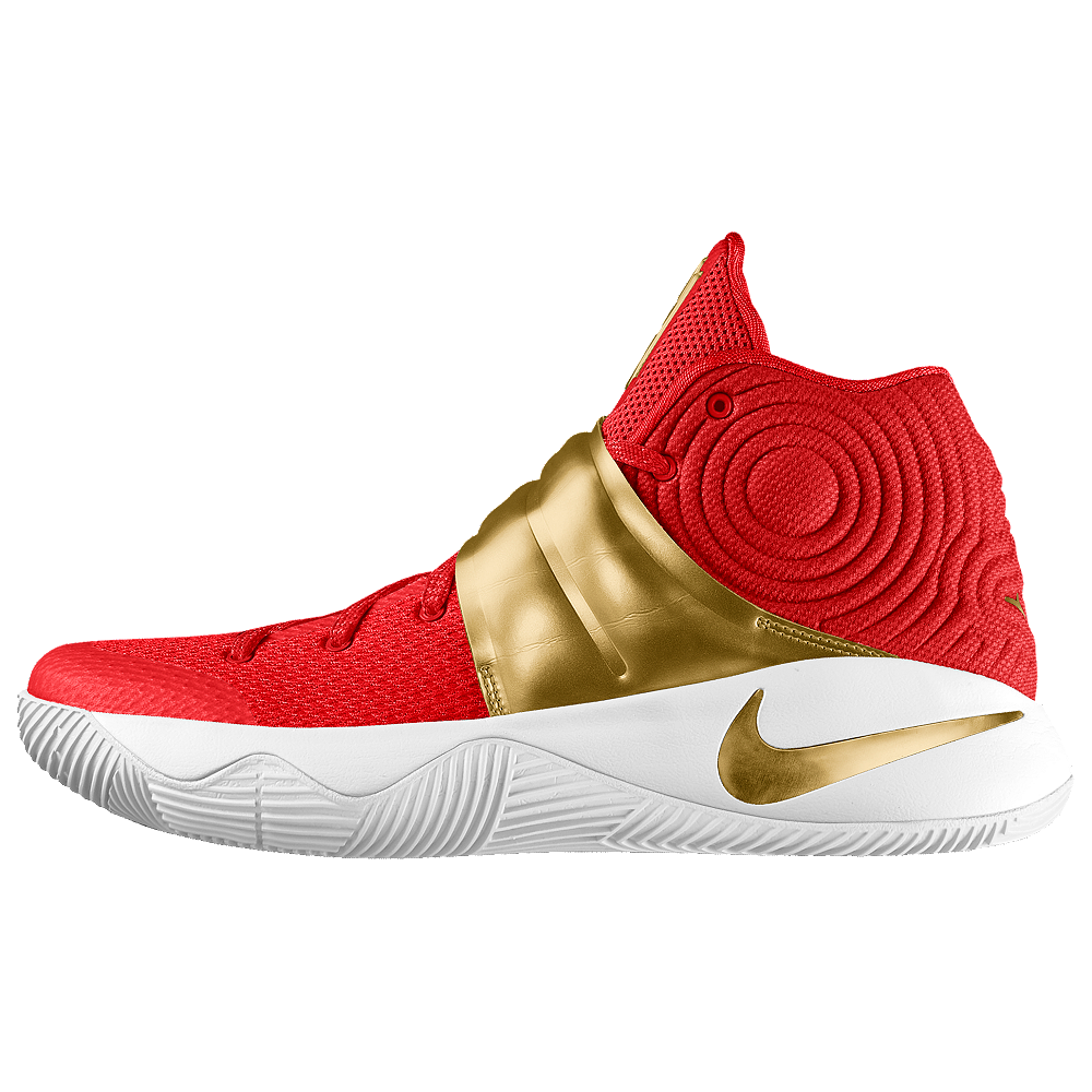 09950e397bcd Nike Kyrie 2 iD Big Kids  Basketball Shoe Size 5.5Y (Red)