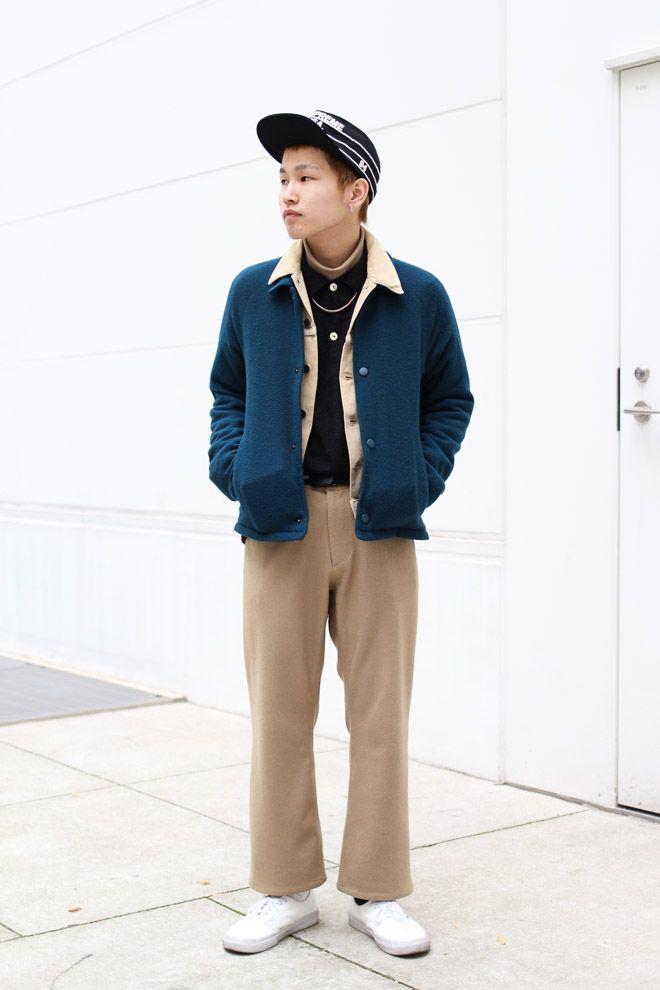 ストリートスナップ大阪 - 横山 翼さん | Fashionsnap.com