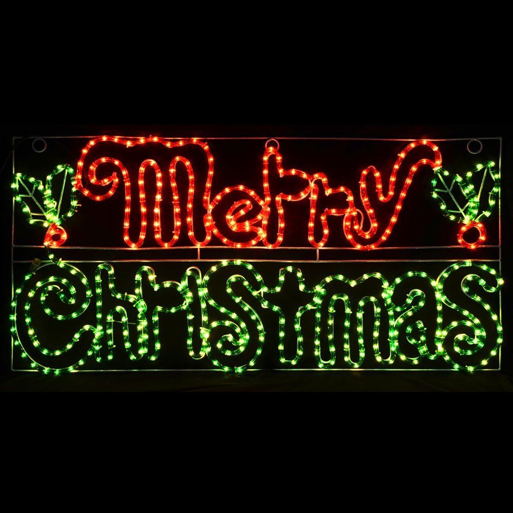 Image Result For Diy Rope Light Christmas Decorations Decorating With Christmas Lights Merry Christmas Lighted Sign Outdoor Christmas Diy
