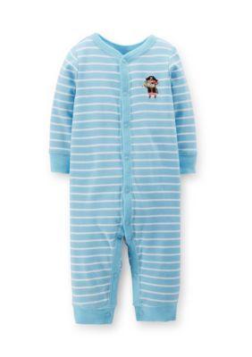 aeda75994 Carters Monkey Stripe Sleep and Play. Carters Monkey Stripe Sleep and Play  Baby Boy One Pieces, ...