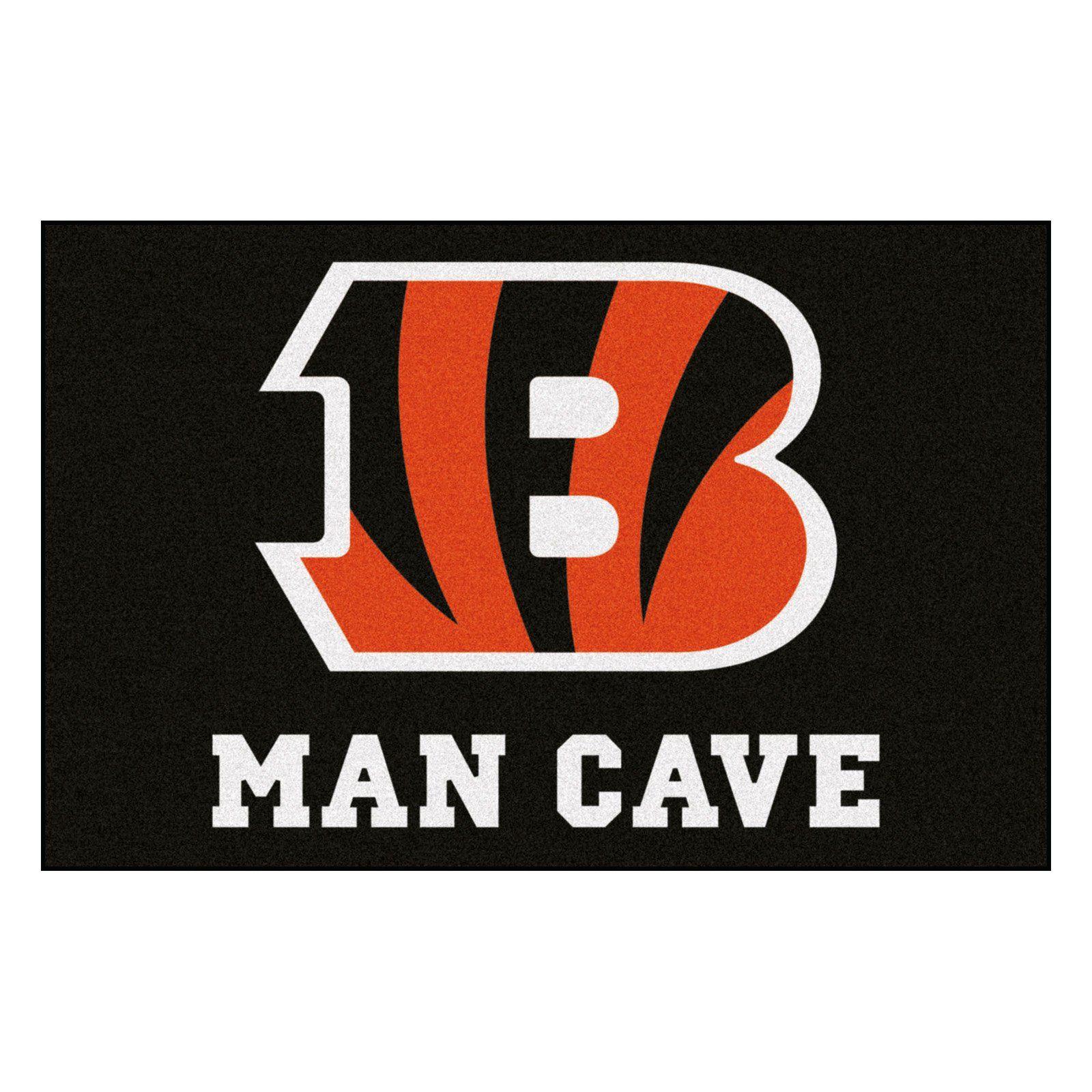 Fan Mats NFL Football Man Cave Indoor Mat in 2019 Man