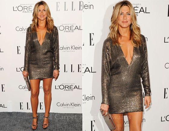 Jennifer Aniston In Kaufmanfranco - Elle\'s 18th Annual Women in ...