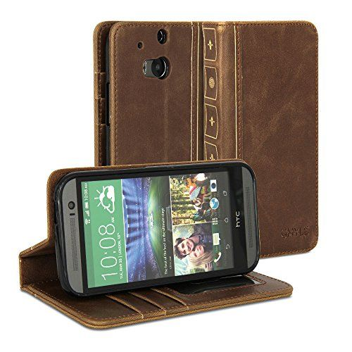 Htc One M8 Bookcase.Htc One M8 Case Gmyle Book Wallet Case Vintage For Htc One