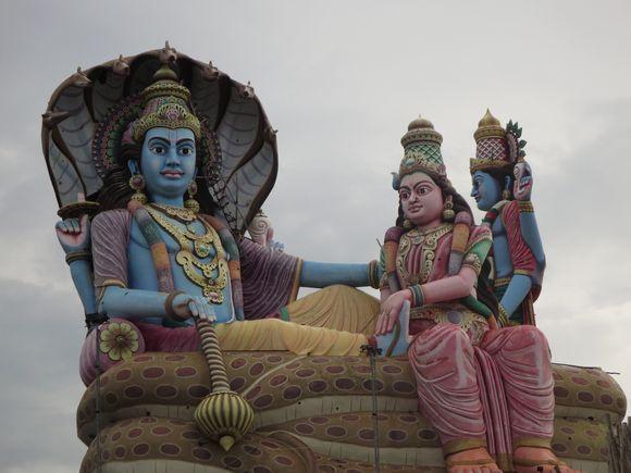 Vishnu statue - The hindu's god
