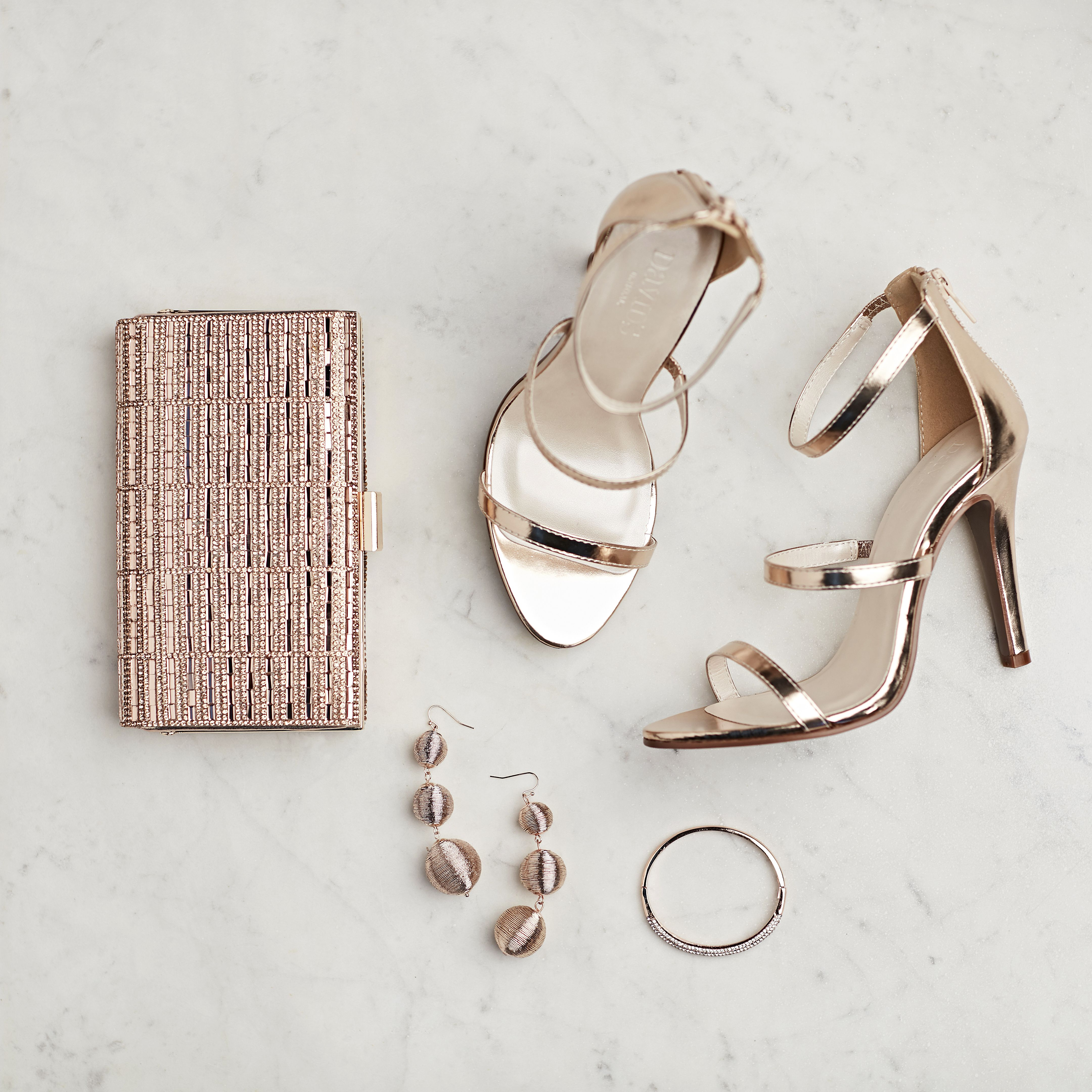 Currently Craving Rose Gold Accessories David S Bridal Blog Rose Gold Accessories Prom Accessories Gold Heels Wedding