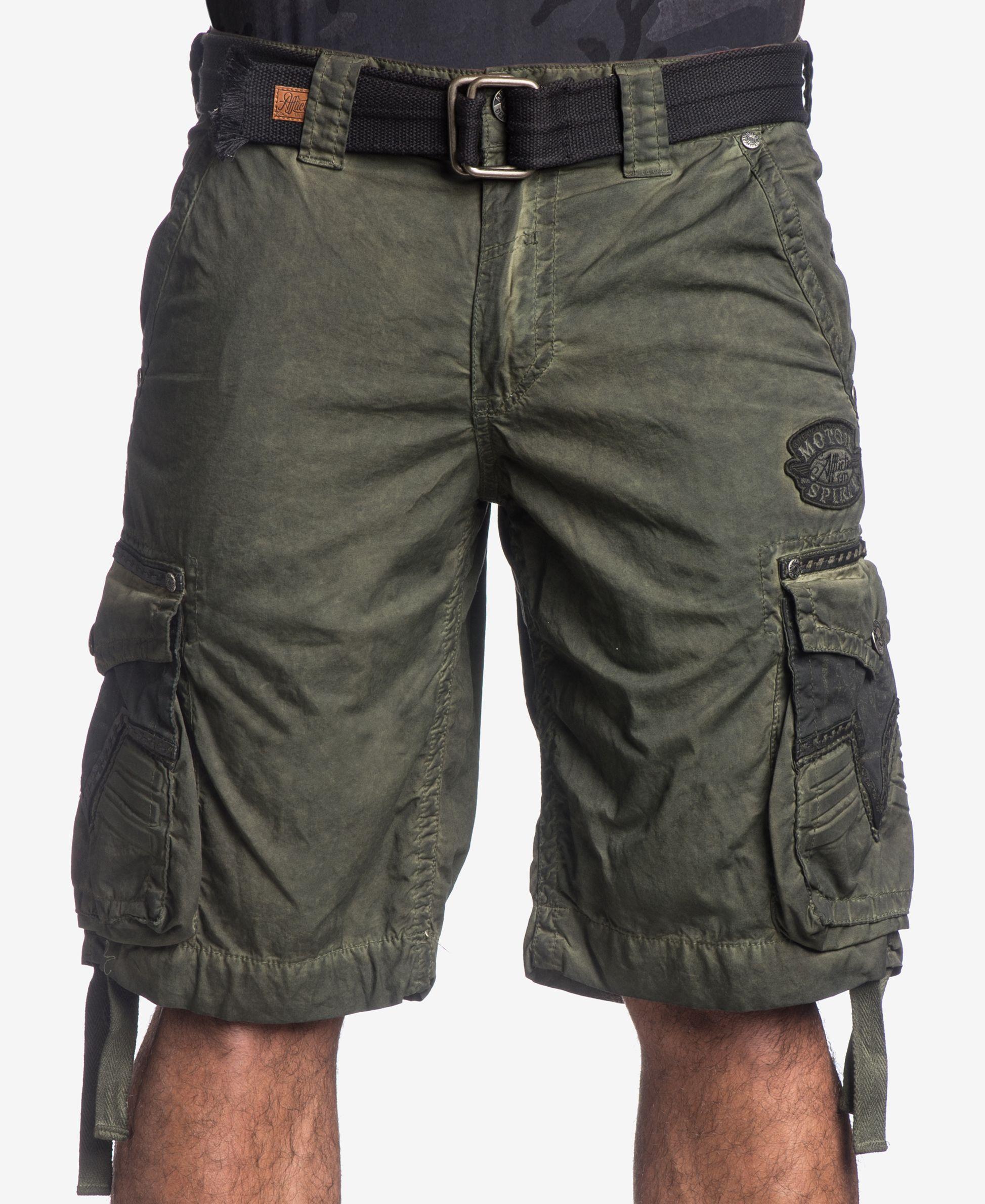 5c245fc4ea Affliction Men's Rusted Template Cargo Shorts | KIT | Affliction men ...