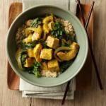 Squash and tofu curry