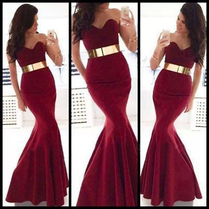 What color belt for red dress