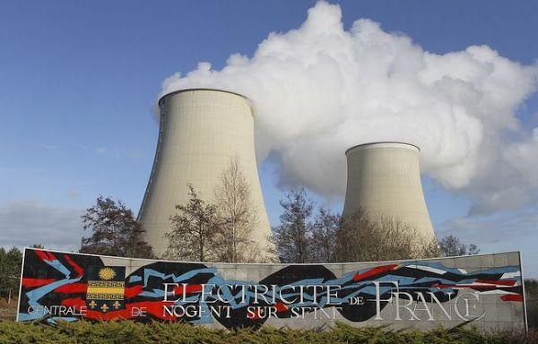La centrale nucléaire de Nogent-sur-Seine comprend deux réacteurs. - Crédit FRANCOIS NASCIMBENI / AFP