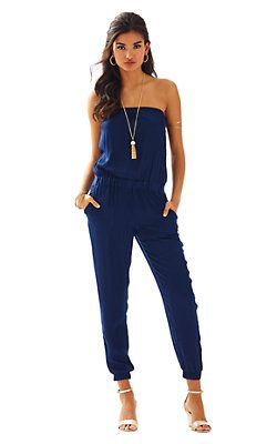 3dcb0697c1a Lilly Pulitzer Emiko Strapless Jumpsuit