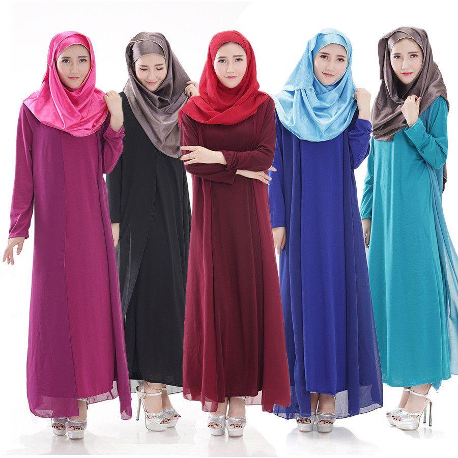 Islamic Abaya Clothing for Women Traditional Arabic Hijab ...