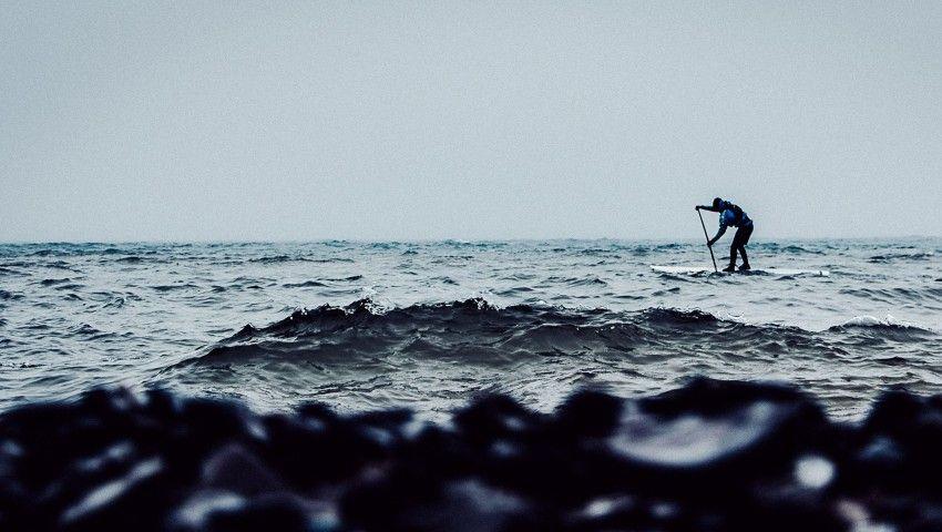 Man Circumnavigates Lake Superior on SUP