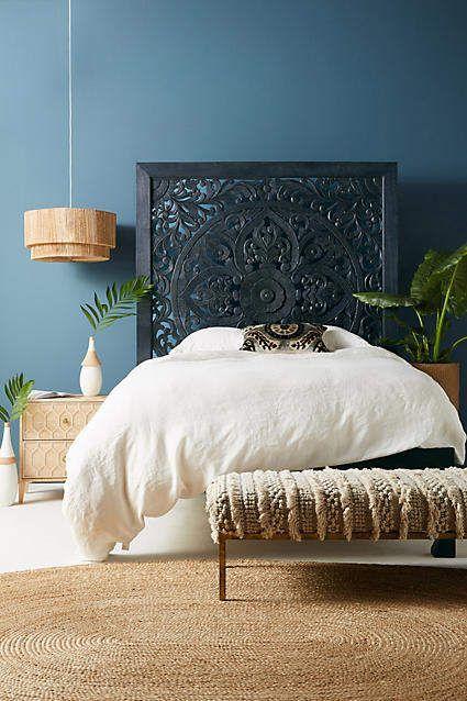 Best Anthropologie Lombok Bed Frame Love The Detailing On The Headboard Bed Bedframe Headboard 400 x 300