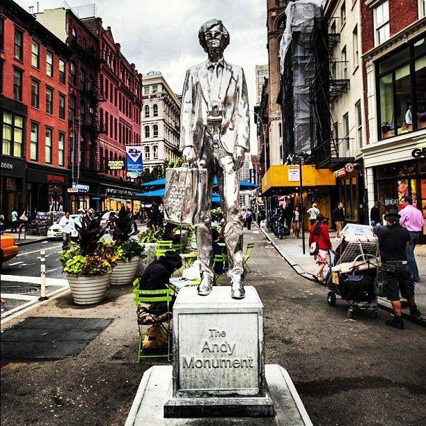 Andy Warhol en NYC by @JosejMXM