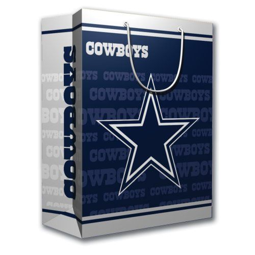 NFL Dallas Cowboys Gift Bag, Medium by PSG. $6.50. NFL Dallas ...