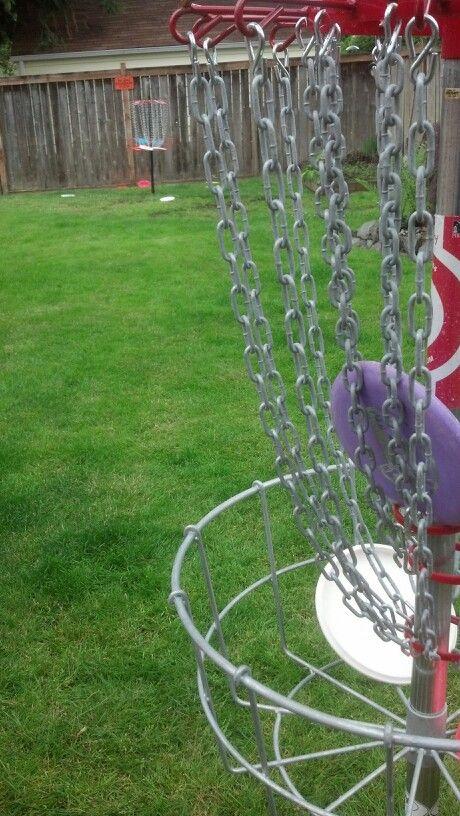 Backyard putts   Disc golf, Backyard, Putt putt